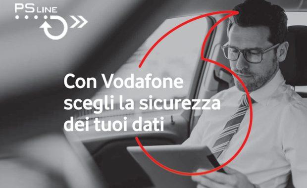 Con Vodafone scegli la sicurezza dei tuoi dati
